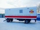 Трассовый медицинский пункт для ЦМК Курганской области