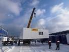 Блочно-модульные здания КПП для компании «Роснефть»