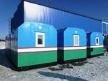 Начинается отгрузка партии вагон-домов для постоянного заказчика