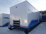Уникальные 12-метровые блок-модули на санях