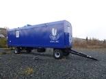 Десятиместные жилые вагончики для лесопромышленников