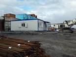 Завершен монтаж санитарного здания «Ермак» в Норильске