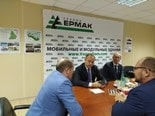 Рабочий визит министра промышленности Свердловской области на производственную площадку ООО «Группа Ермак»