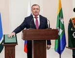 Поздравляем А.В. Орлова со вступлением в должность главы Екатеринбурга!