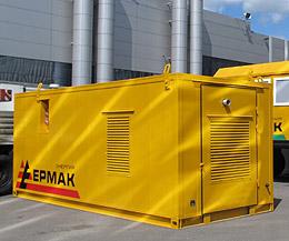 Блок-контейнер для дизельной электростанции