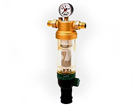 Самопромывной фильтр для очистки воды