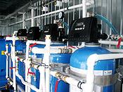 станция водоподготовки - фильтры
