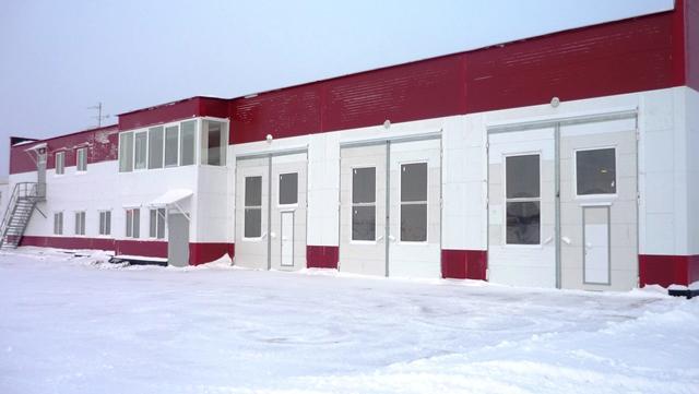 Быстровозводимое здание аварийно-спасательной станции