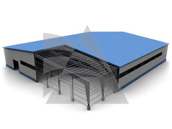 Здания на базе легких металлических конструкций